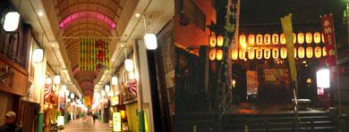 大晦日の川端商店街と櫛田神社