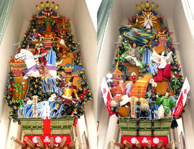 番外 櫛田神社 飾り山