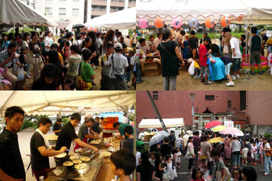 萬四郎神社 夏祭り