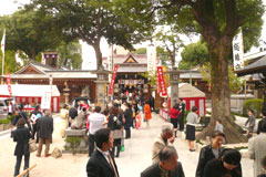 櫛田神社 七五三