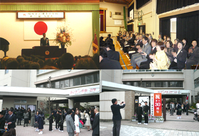 博多中学校 入学式