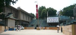 櫛田神社境内