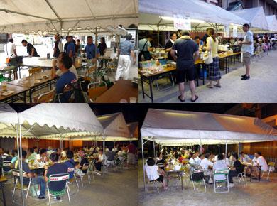 櫛田神社 ビール園