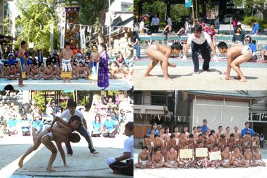 博多小学相撲大会