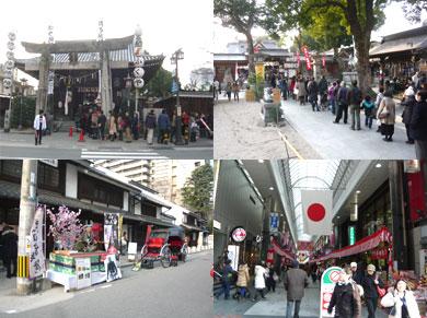 櫛田神社・ふるさと館・川端商店街