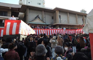 櫛田神社 節分厄除大祭