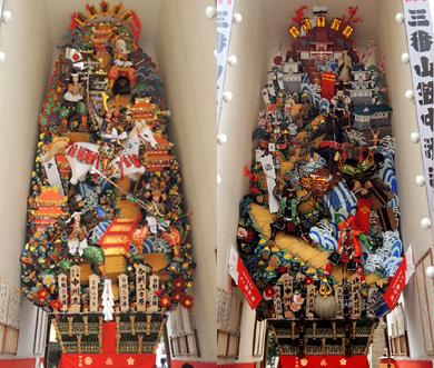 中洲流 飾り山笠