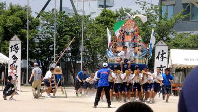 博多中学校体育祭