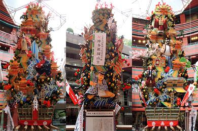 キャナルシティ博多 飾り山