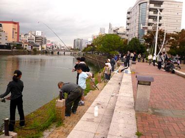 親子釣り大会