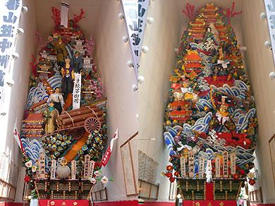 中洲流飾り山
