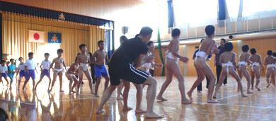 相撲練習風景